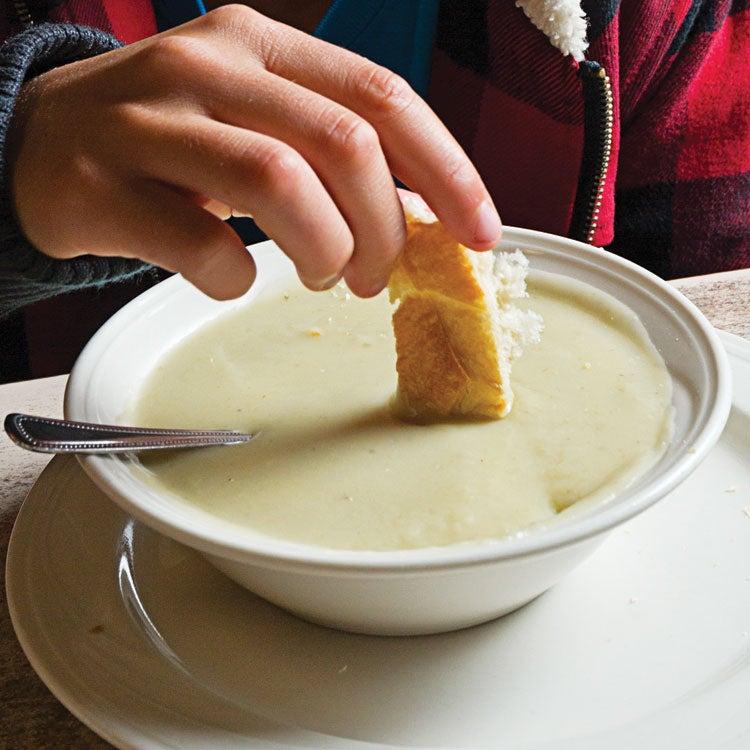 Duarte's Cream of Artichoke Soup