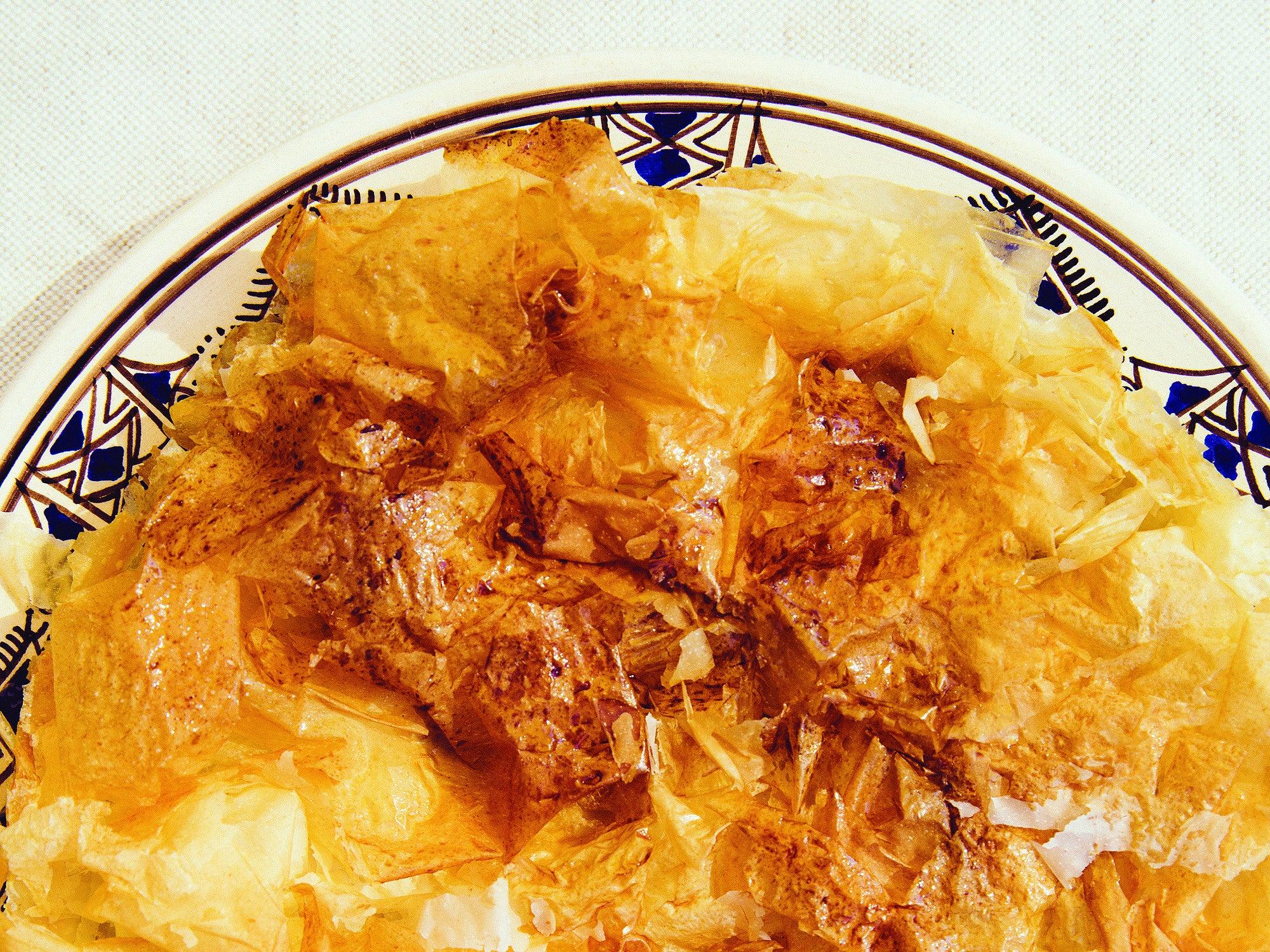 Apple and Armagnac Phyllo Pie
