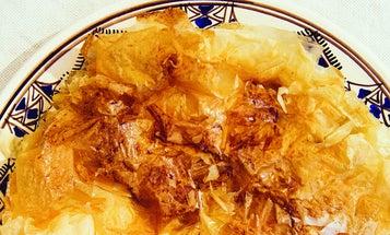 Apple and Armagnac Phyllo Pie (Tourtière Landaise)