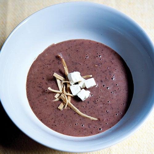 Black Bean Soup (Sopa de Frijol)