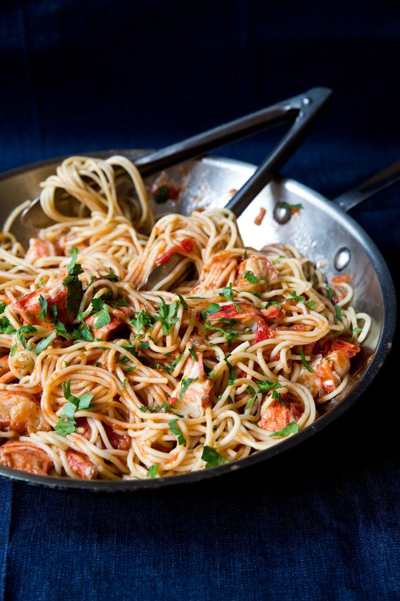 Lobster Spaghetti (Spaghetti all'Astice)