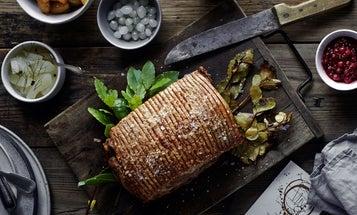 Roast Pork Loin with Salted Caramel Potatoes