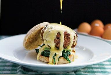 Pork Patty Breakfast Sandwich