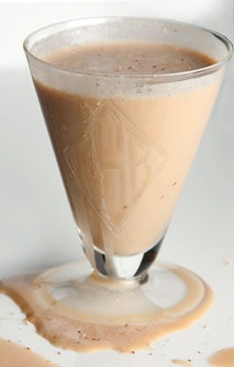 Maple Vodka and Espresso Dessert Cocktail