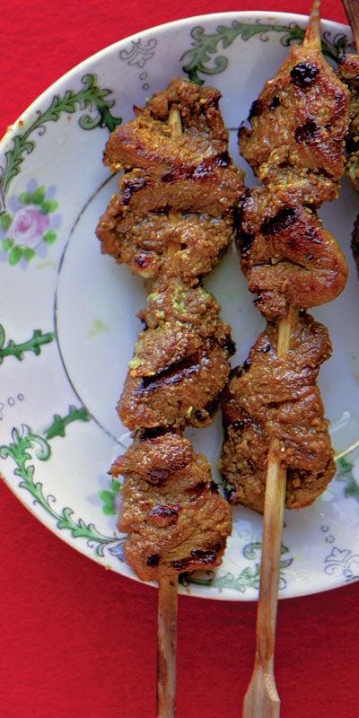 Lamb Satay (Satay Kambing)