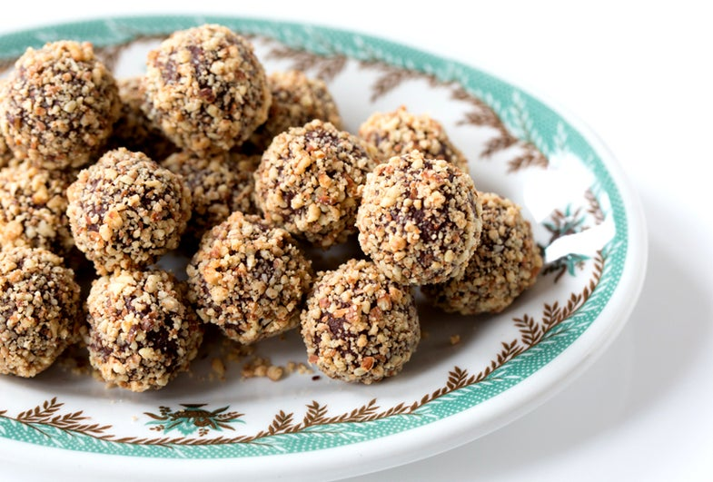 Earl Grey and Lavender Chocolate Truffles