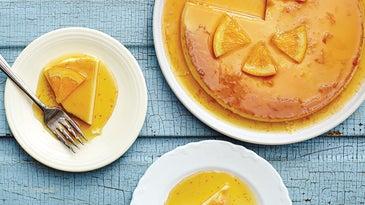 Baked Custard Cake