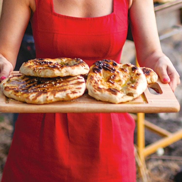 Grilled Pita Bread with Za'atar