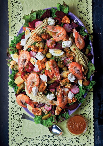 Guatemalan Composed Salad (Fiambre)