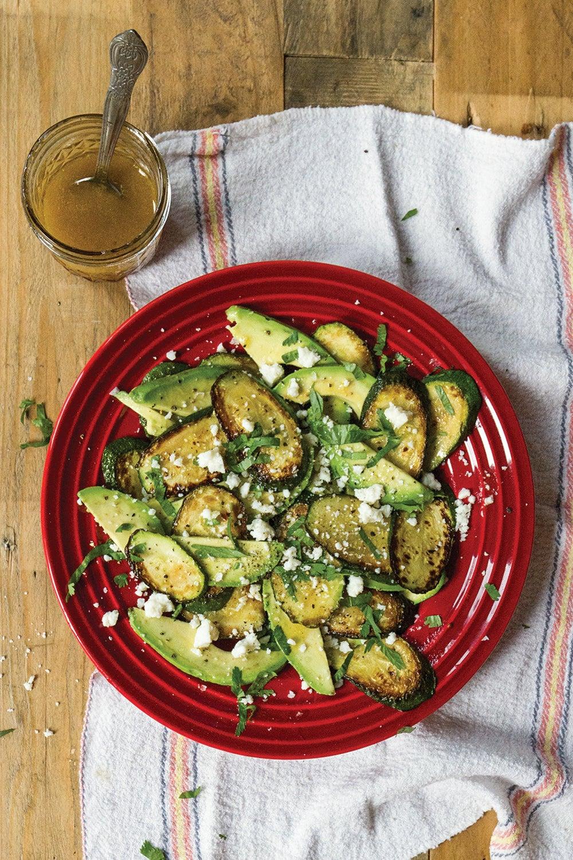 Frida Kahlo's Zucchini Salad (Ensalada de Calabacín)