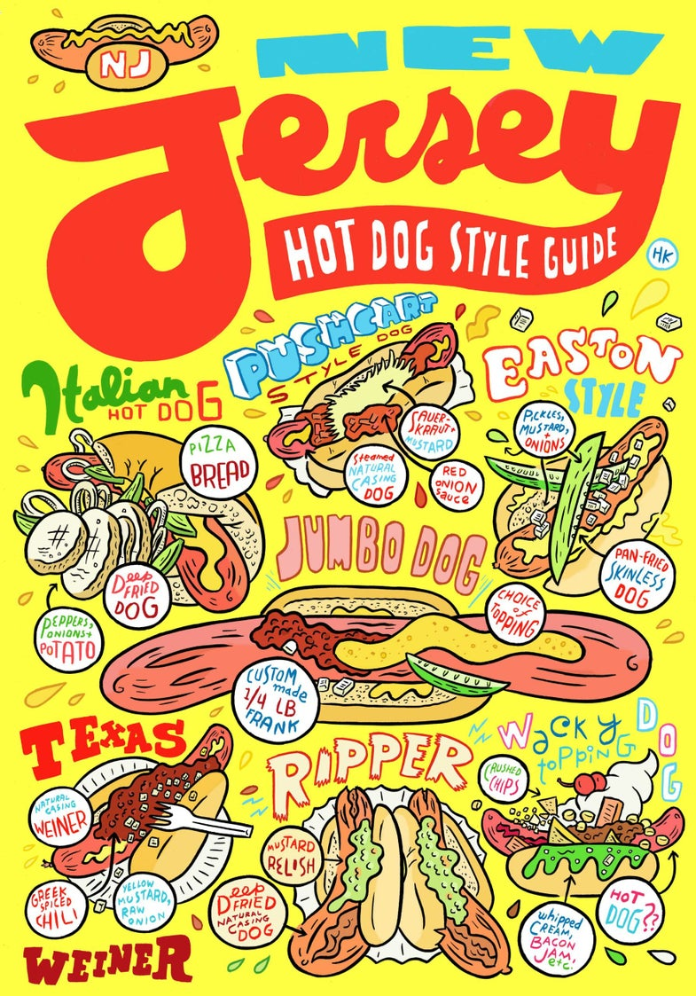 new jersey hot dogs