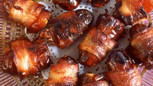 bacon appetizers, bacon recipes, party appetizers