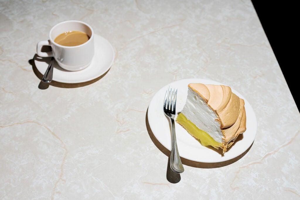 Modern Snack Bar Lemon Meringue Pie