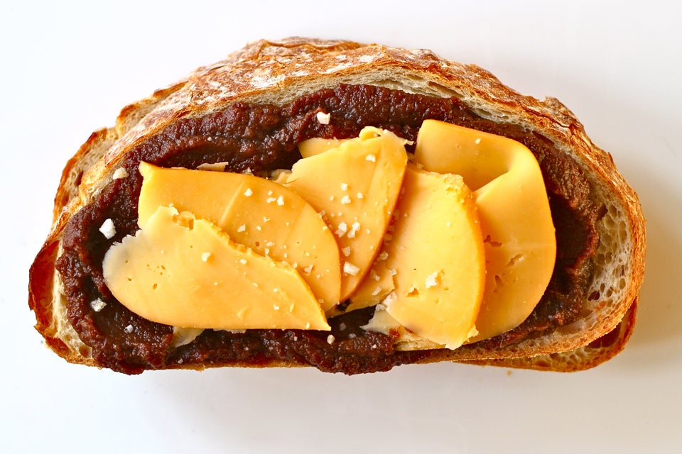 Smoked Gouda and Apple Butter Sandwich Road Trip Food