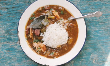 Eating in the Street: A New Orleans Breakfast Gumbo Tradition