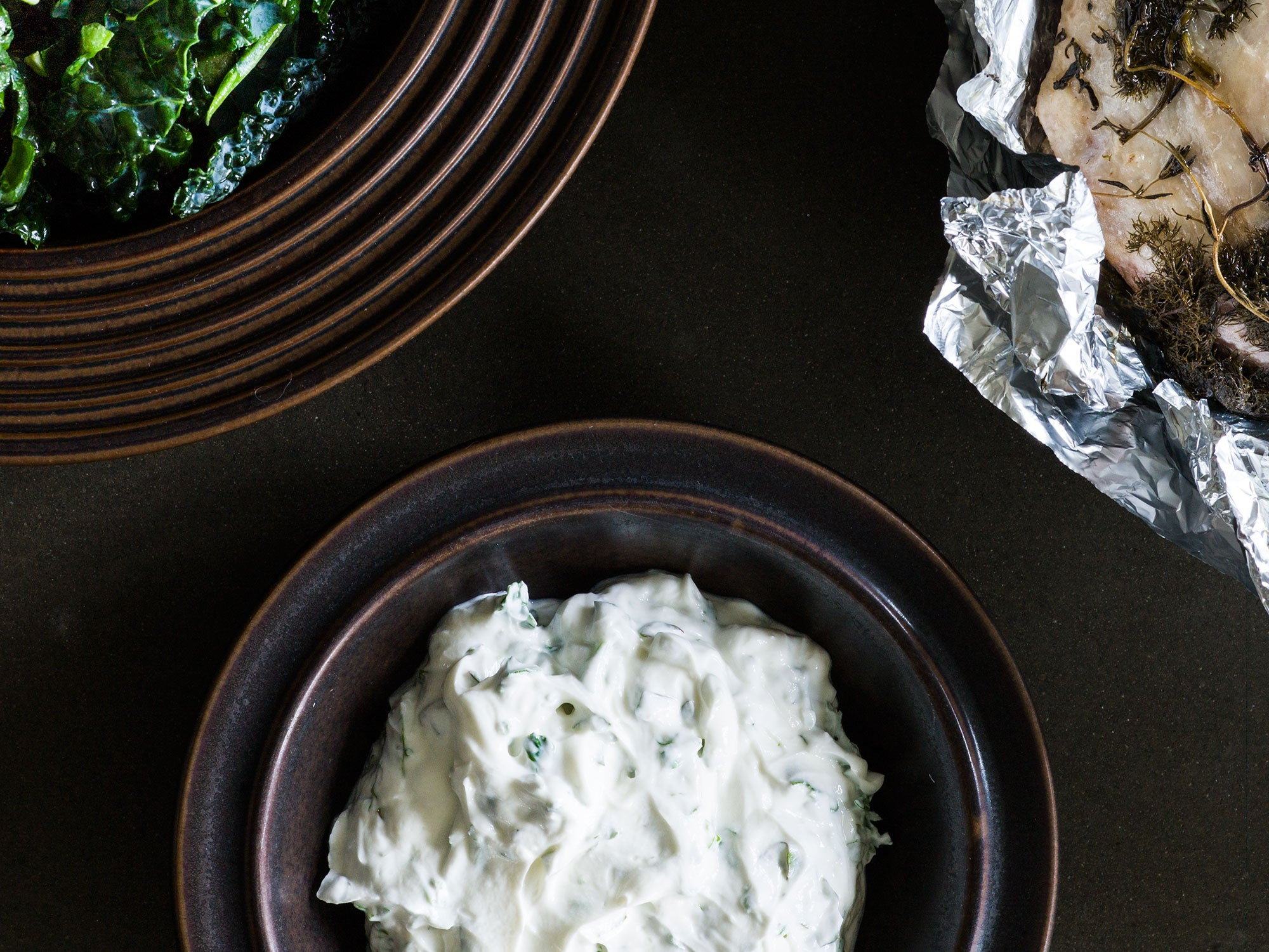 Sweden, recipe, Magnus Nilsson, skyr, cheese, parsley, dill