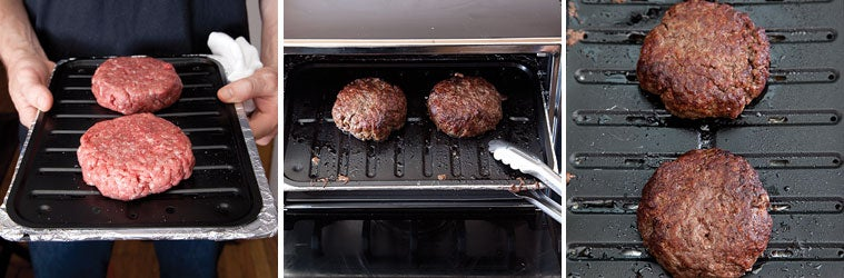 How to Broil Burgers in the Broiler