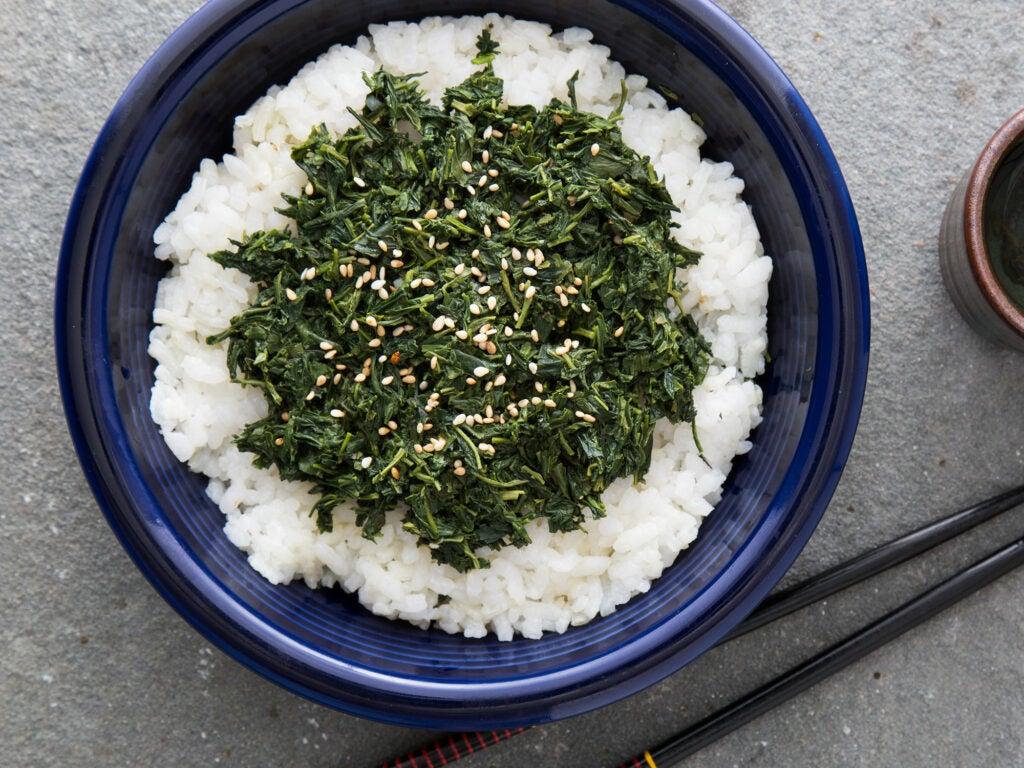 Japanese Tea Leaf Salad