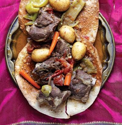 Emirati Lamb Stew (Tharid)