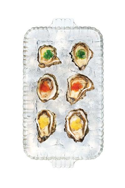 Oysters in Gelée