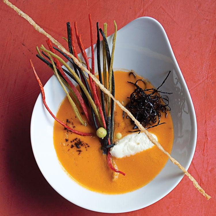 Tortilla Soup (Sopa de Tortilla)