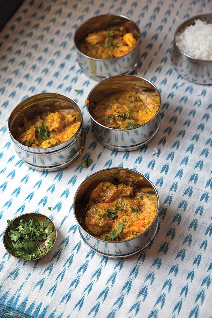 Goanese Shrimp Curry (Sembharachi Kodi)
