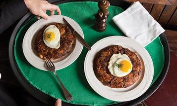 Keens' Steakhouse Prime Rib Hash