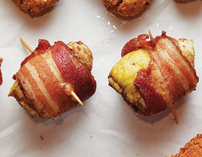 Bacon-Wrapped Artichokes (Fondi di Carciofi)