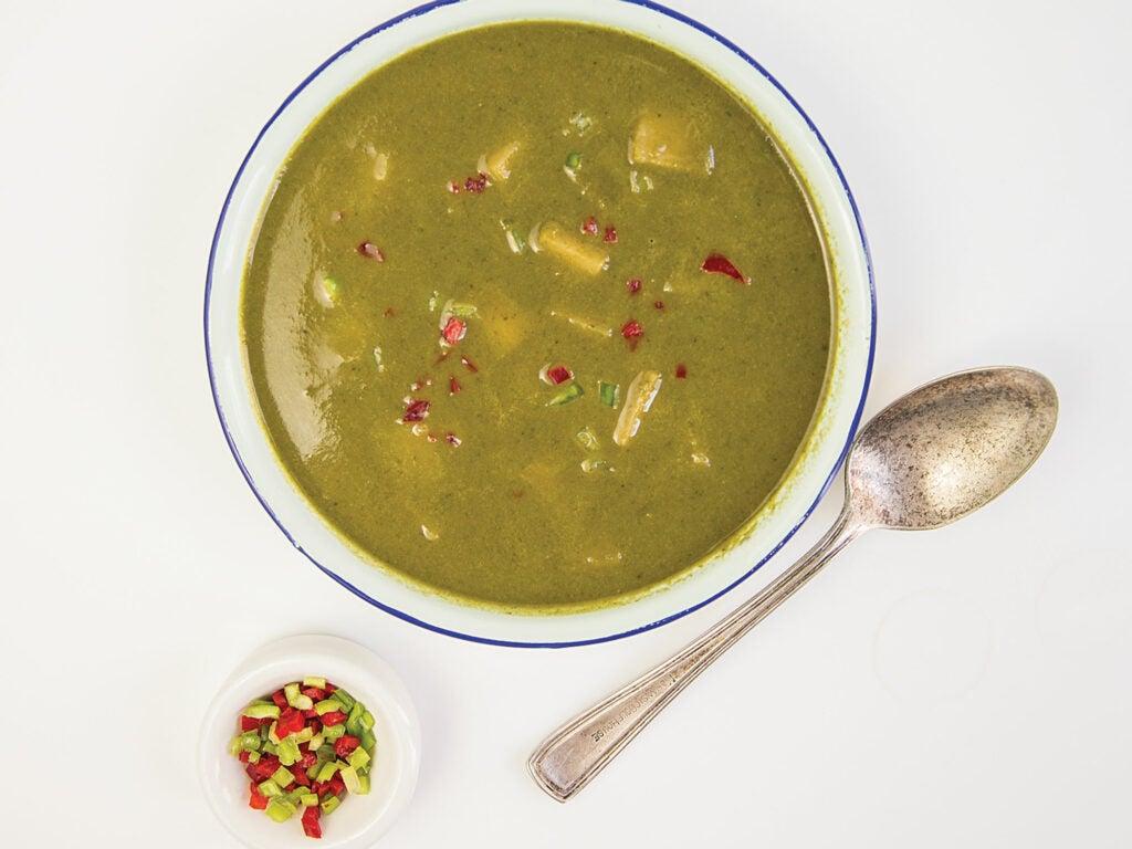 Vegetarian Jamaican Pepper Pot Soup