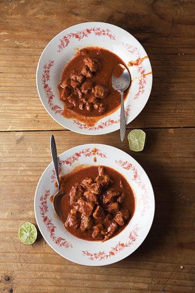 Asado de Bodas (Pork in Red Chile Sauce)