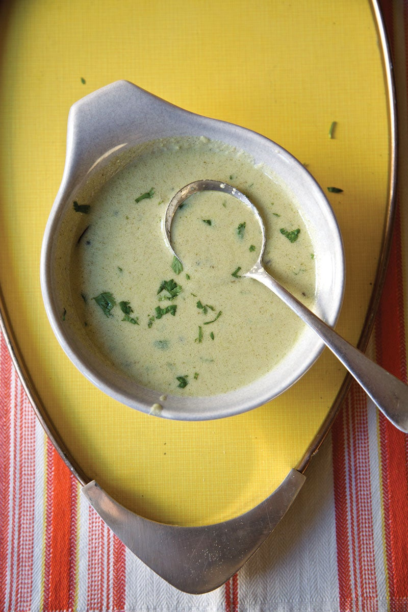 Curried Yogurt Stew (Kadhi)