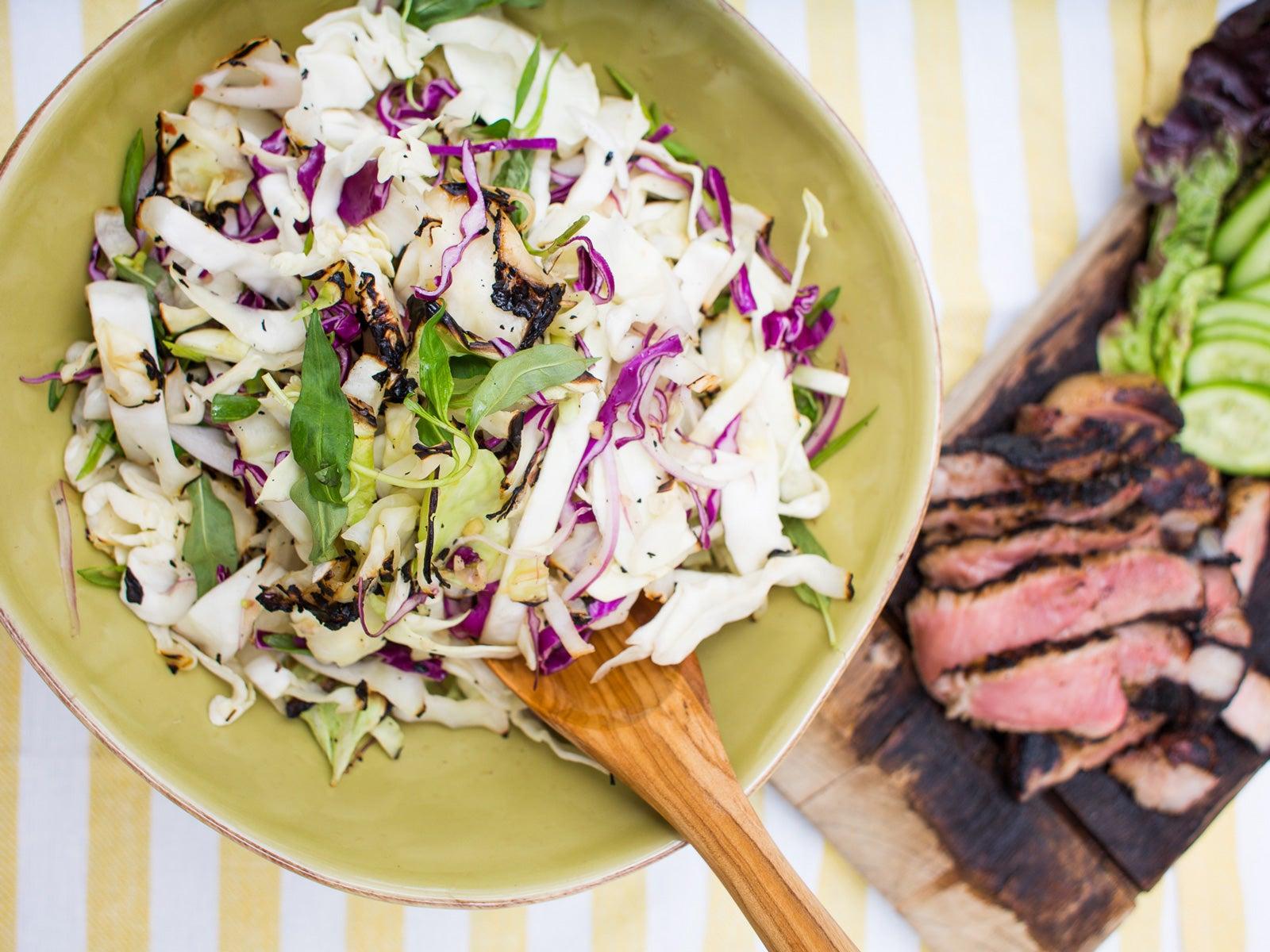 Houston, Chris Shepherd, Grilling, Cabbage Slaw