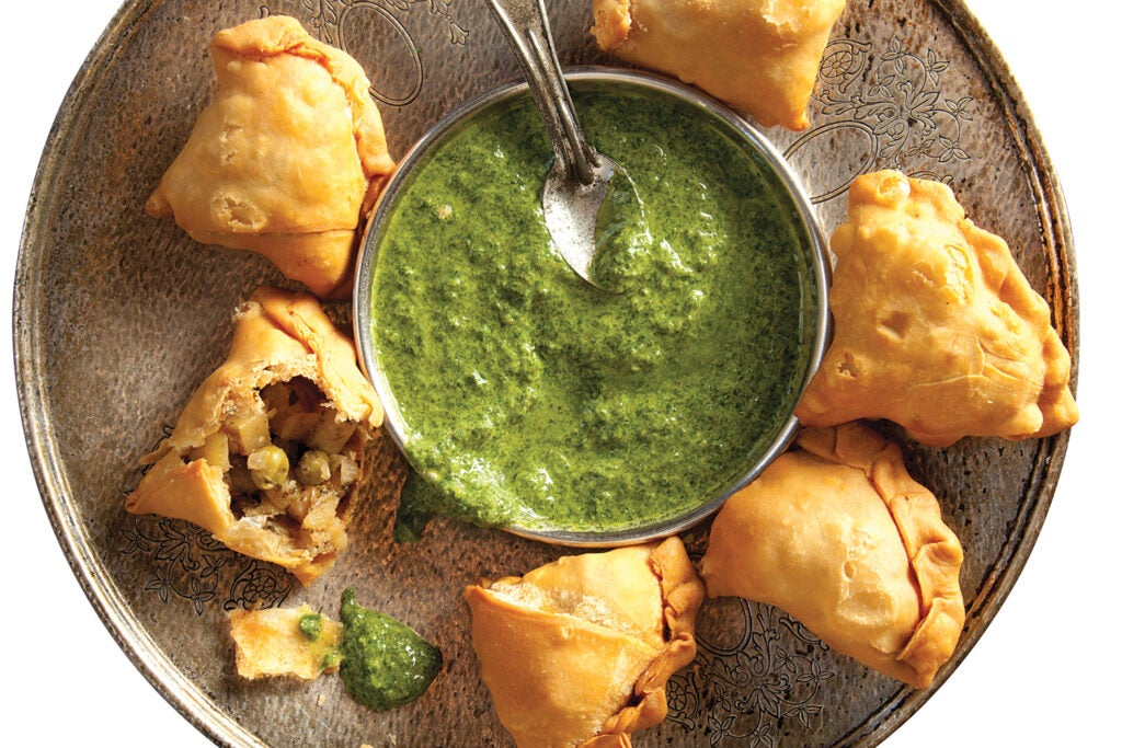 Indian Spiced Potato Pastries (Aloo Samose)