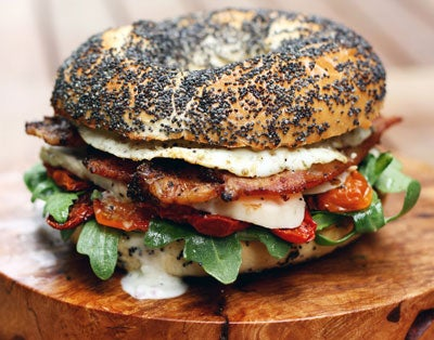 Chicken and Egg Club Sandwich