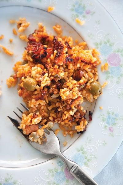 Puerto Rican Rice with Pigeon Peas (Arroz con Gandules)
