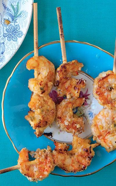 Shrimp Satay (Satay Udang)
