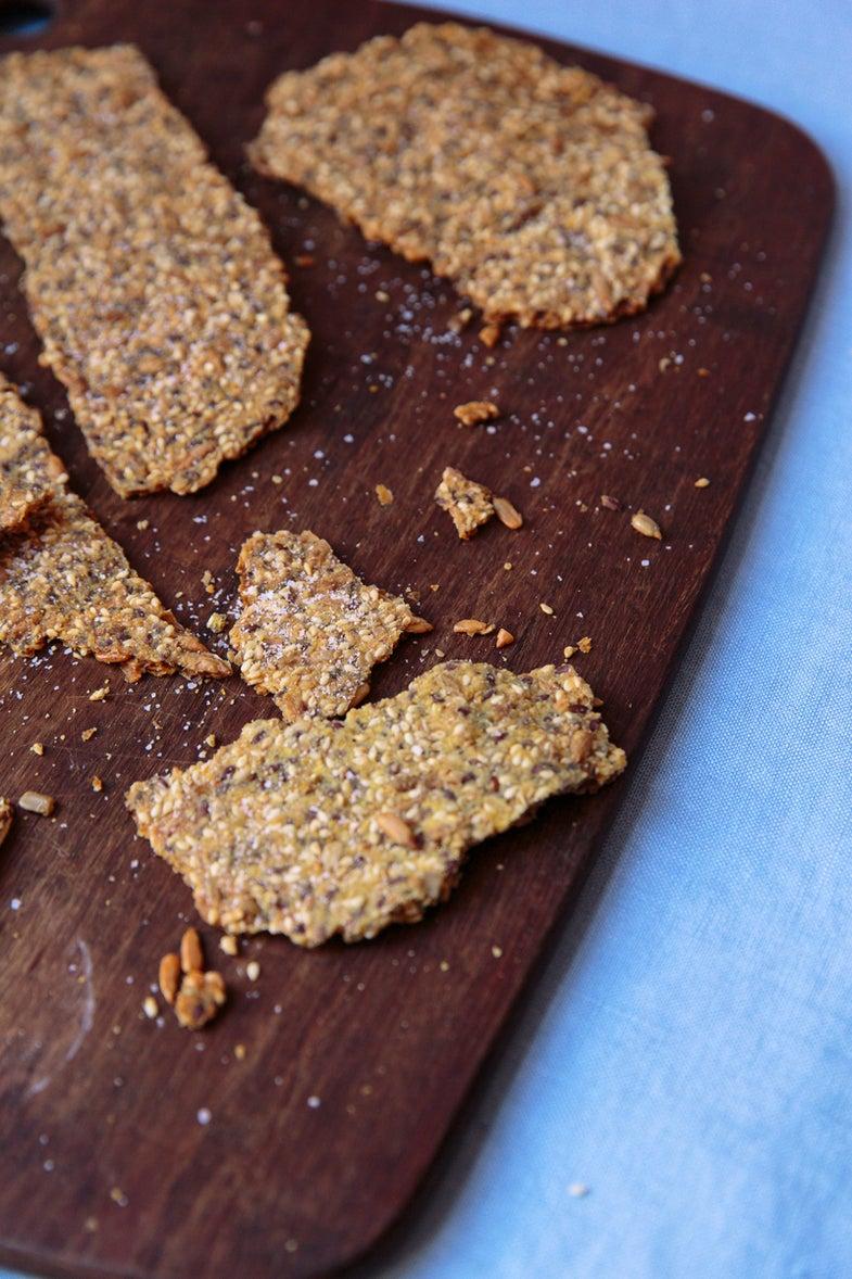 Seeded Crispbread (Knäckebröd med Frön)