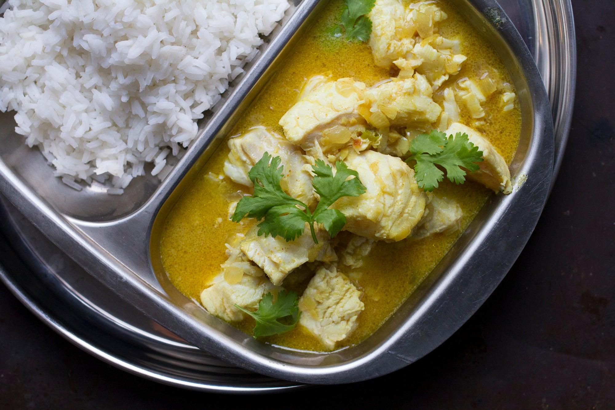 Goa cod curry