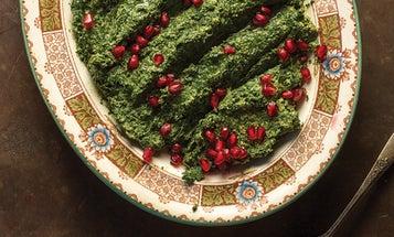 Pkhali (Spinach and Walnut Salad)