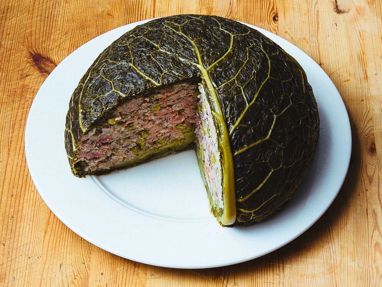 The Ultimate Stuffed Cabbage (Lou Fassum)