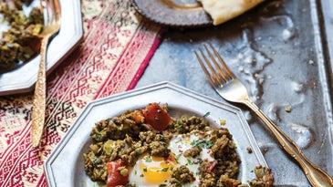 Iraqi Eggs with Lamb and Tomatoes (Makhlama Lahm)