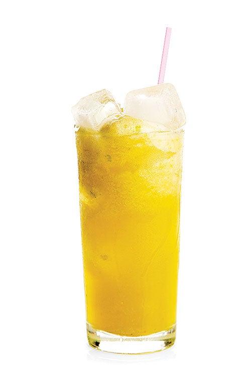 Pineapple and Cactus Drink (Agua de Piña con Nopal)