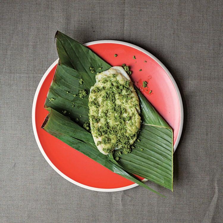 Steamed Banana-Wrapped Fish (Patra ni Muchchi)