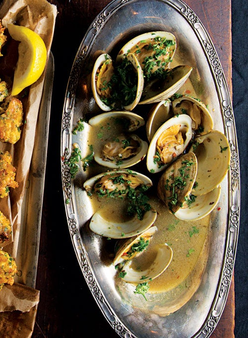 Clams in Sherry Sauce