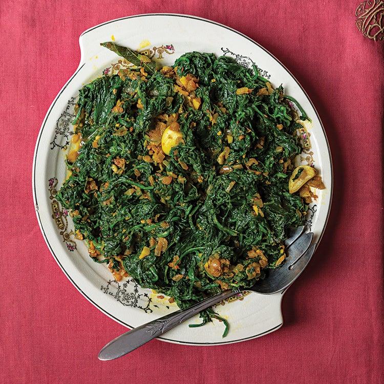 Palakoora Sauteed Spinach