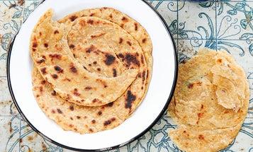 Paratha (Flaky Indian Flatbread)