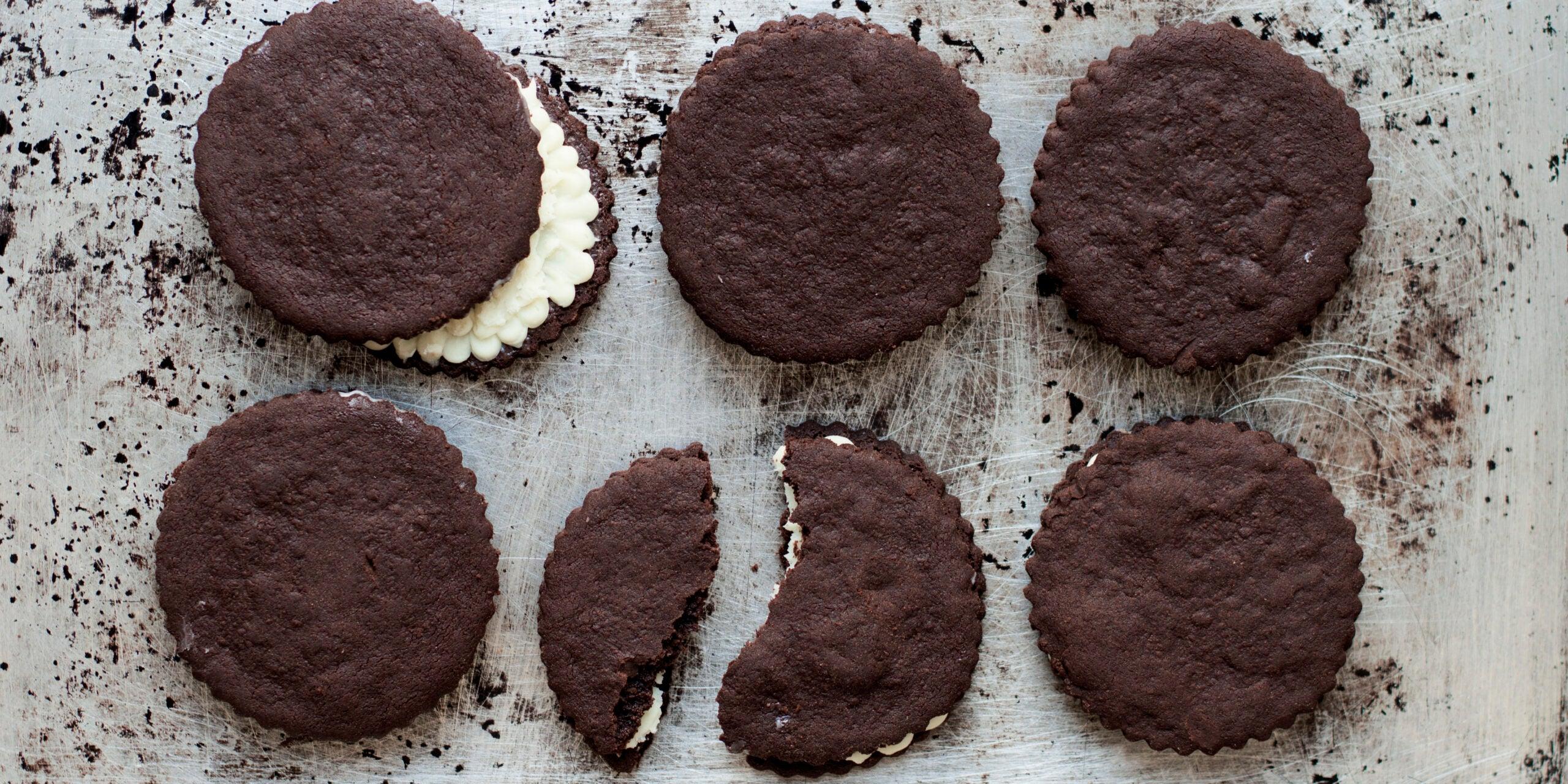 TKOs (Chocolate Sandwich Cookies)