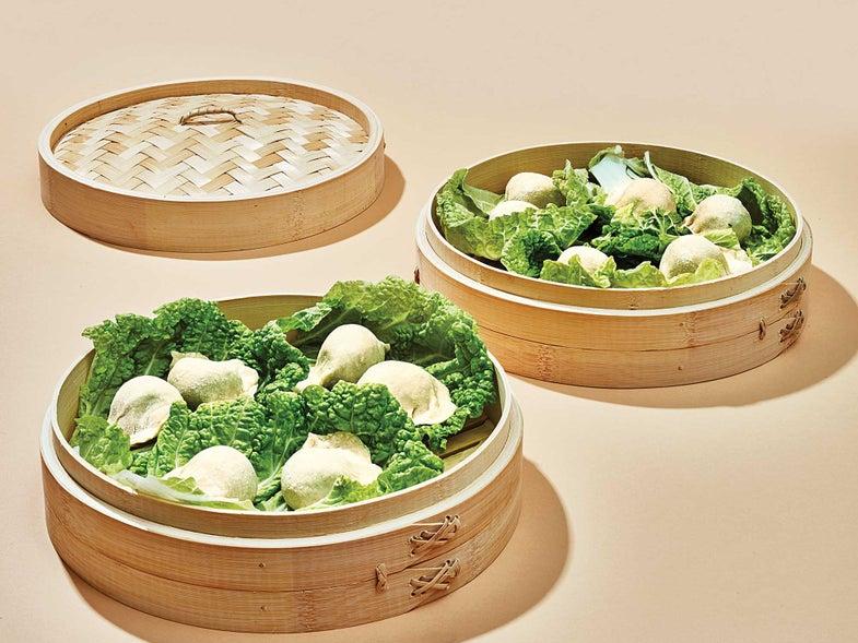 The Best Way to Improve Homemade Dumplings? A Bamboo Steamer