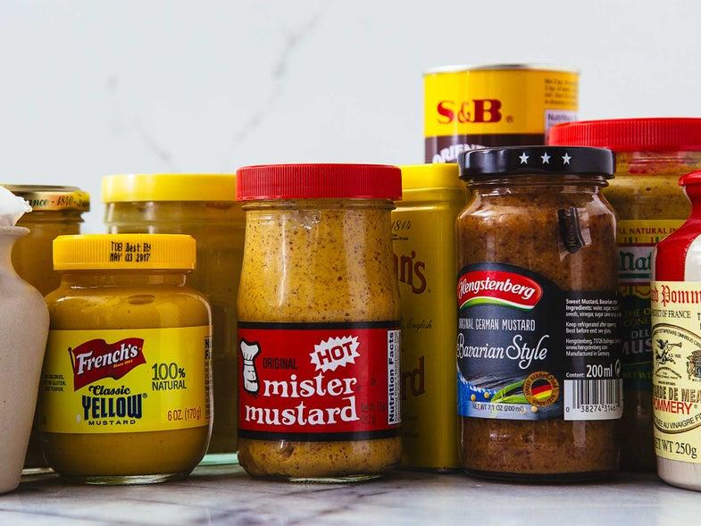 The mustard pantry