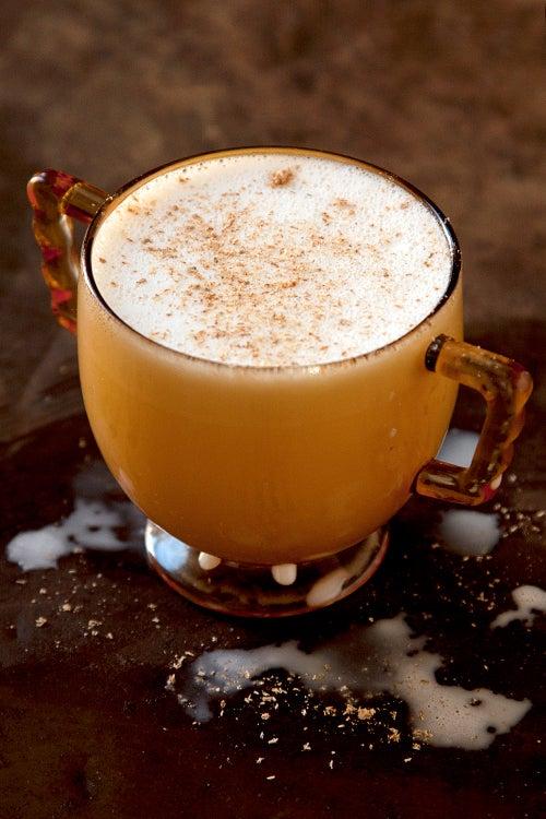Hot White Chocolate with Cardamom